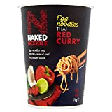 Naked Noodle Thai Red Curry Egg Noodles, 78 g