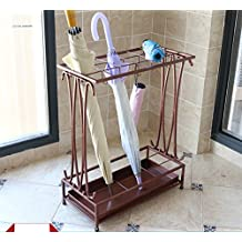 Creativo Umbrella Rack Hotel Lobby Hogar Sombrilla de Hierro Paraguas Bucket Bar
