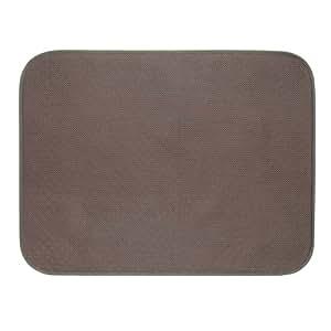 interdesign idry tapis de bain grand tapis antid rapant en microfibre polyester pour sdb wc. Black Bedroom Furniture Sets. Home Design Ideas