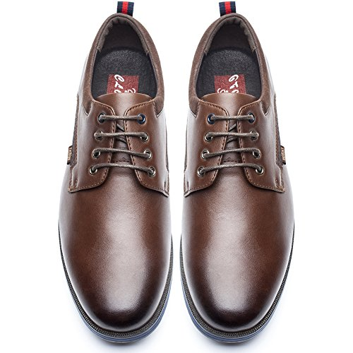 Zapatos de Cordones Business Hombre - Zapatos Oxford Casual, Adecuado