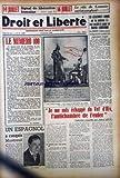 Telecharger Livres DROIT ET LIBERTE No 32 du 14 07 1949 14 JUILLET SIGNAL DE LIBERATION HUMAINE 16 JUILLET LE ROLE DU COMMISSARIAT SANGLANT LE NUMERO 100 M VILNER LES ASSASSINATS COMMIS PAR LES MEDECINS SS SONT CONSIDERES COMME TRAVAIL SCIENTIFIUE LE MRAP S ELEVE AVEC INDIGNIATOIN CNOTRE CE JUGEMENT INIQUE JE ME SUIS ECHAPPE DU VEL D HIV L ANTICHAMBRE E L ENFER ALBERT LEVY UN ESPAGNOL A CONQUIS MONTREUIL VILATO (PDF,EPUB,MOBI) gratuits en Francaise