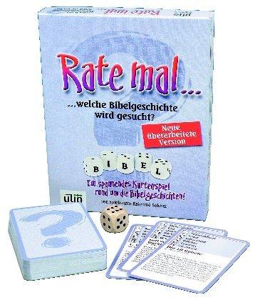 Kartenspiel 'Rate mal...'