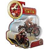Die Abenteuer von Tim und Struppi - Das Geheimnis der Einhorn - set nr. 3 - Tim auf seinem Motorrad
