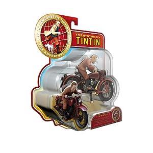 Plastoy 60872 - Figura de Tintín y Motocicleta 3