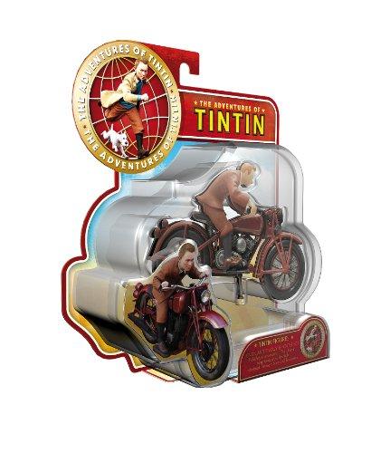 Plastoy 60872 - Figura de Tintín y Motocicleta 1