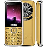 KECHAODA ONEANTWO D8 BlackGolden Dual SIM Mobile Phone With 2.4 Inch Display, 1800 MAh Big Battery, Big Speaker, Wireless FM, Vibration And 1 Year Warranty