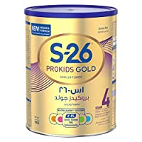 Wyeth Nutrition S26 Prokids Gold Stage 4, 3-6 Years Premium Milk Powder for Kids Tin with Nutrilearn System - 900 gm