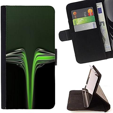 All Phone Most Case / Cellulare Smartphone cassa del cuoio della calotta di protezione di caso Custodia protettiva per HTC ONE A9 // Black Toxic Car Tag Brand Wings