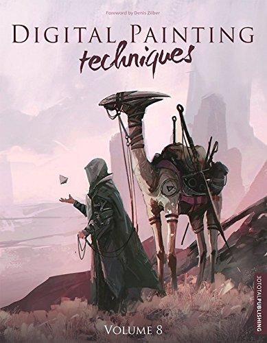 Digital Painting Techniques: 8 di 3D Total Publishing,Annie Moss,Denis Zilber