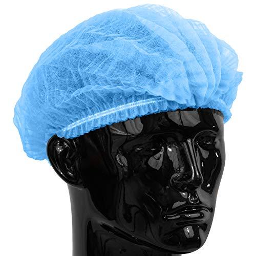 500 x Simply Direct Blaue Einweghaarnetze/Mob Kappen die in einem wiederverschließbaren Beutel geliefert werden