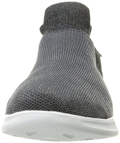 Skechers Damen Go Step Lite-Ultrasock 2.0 Ausbilder Schwarz (Black/White)