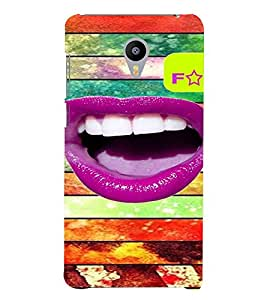 PrintVisa Hot & Sexy Lips 3D Hard Polycarbonate Designer Back Case Cover for Meizu M3 Note