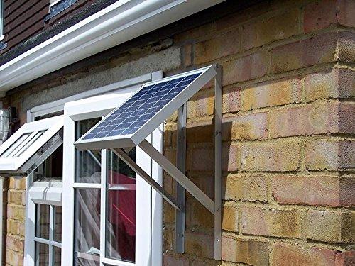 Cadre de support réglable pour Panneau solaire, support avec vis et fixations