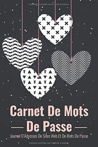 Carnet de Mots de Passe: A5 – 105 pages – 312 mots de passe – Couverture souple – MDP4 – par A L Notebooks