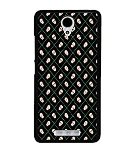 Skull Pattern 2D Hard Polycarbonate Designer Back Case Cover for Xiaomi Redmi Note 2 :: Redmi Note 2 Prime