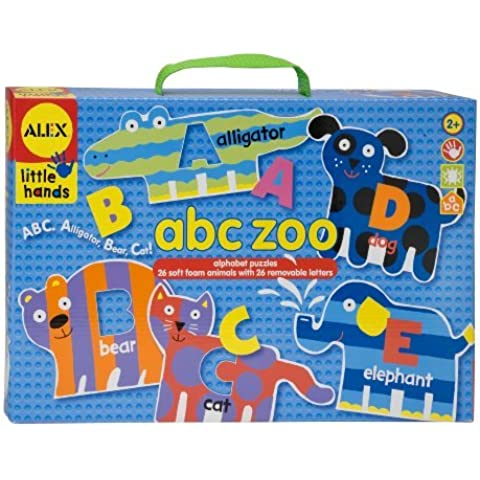 ALEX Toys Little Hands Abc Zoo by ALEX Toys