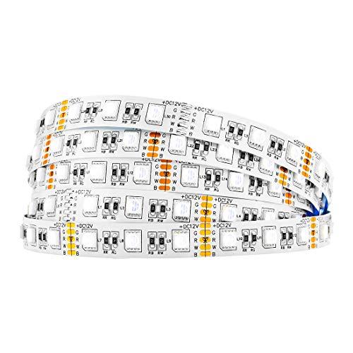BTF-LIGHTING 5M 5050 RGBW 4 in 1 RGB + weiß Streifen mischte Farbe 60leds/m IP30 Nicht-wasserdichte 300LEDs Band-Lampen mehrfarbige LED-Band-Lichter
