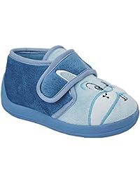 Sleepers - Pantofoline con chiusura a strappo e coniglietto - Bambini