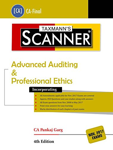 Scanner- Advanced Auditing & Professional Ethics-CA Final (November 2017 Exams)