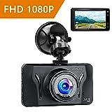 Dashcam Auto Dash Camera Auto Kamera Dash Cam Autokamera Mibao Full HD 1080P mit 170° Weitwinkelobjektiv, 3 Zoll LCD, G-sense, WDR, 6G Lens,...