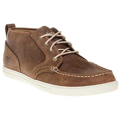 Timberland Fulk Moc Toe Chukka Boots Brown 7 UK