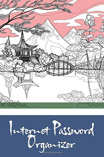 Internet Password Organizer: Japan Landscape Cover, The Personal Internet Address, Premium Journal Keep track of Usernames, Passwords, Web addresses 6