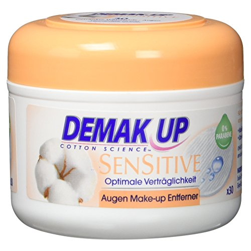 Demak\'Up Sensitive imprägnierte Abschminkpads (30 Wattepads)