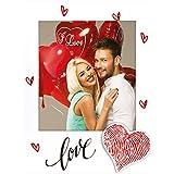 Marco fotográfico Karina fotos tipo polaroid San Valentín