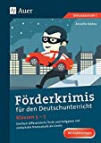 Förderkrimis für den Deutschunterricht Klassen 5-7: Dreifach differenzierte Texte und Aufgaben mit einfachster Niveaustufe als Comic
