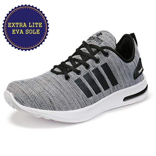 Ethics Force Series Premium Grey Mesh Gym Sports Shoes for Men's (9)