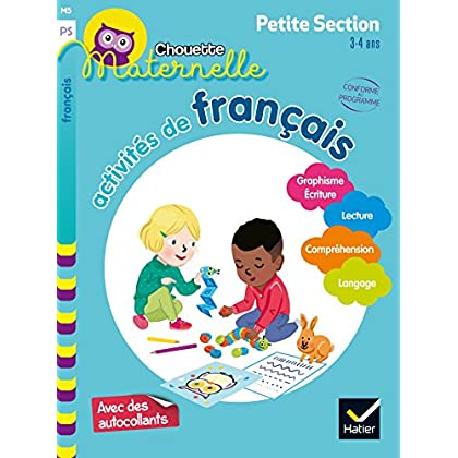 Activités de français Petite Section