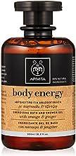 Apivita Body Energy Gel Baño Naranja y Jengibre