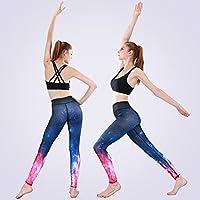 JIALELE Pantalon Yoga Su Running Fitness Pantalones Danza Sportswear  Outdoor Fitness Jogging Sello Transpirable Pantalones De 69c0fe75be11