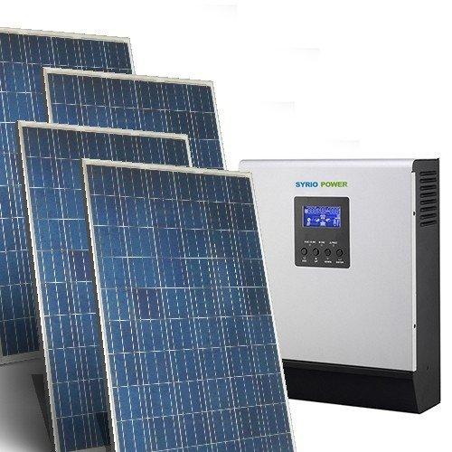 Solarhaus Kit Base 5Kw 48V OFF GRID SOLAR SYSTEM STAND allein Photovoltaik-Anlage