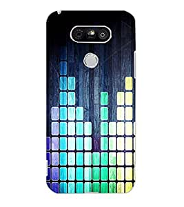 LG G5 BARS Back Cover by PRINTSWAG