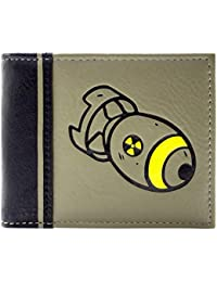 Cartera de Fallout 76 Cohete Nuclear Verde