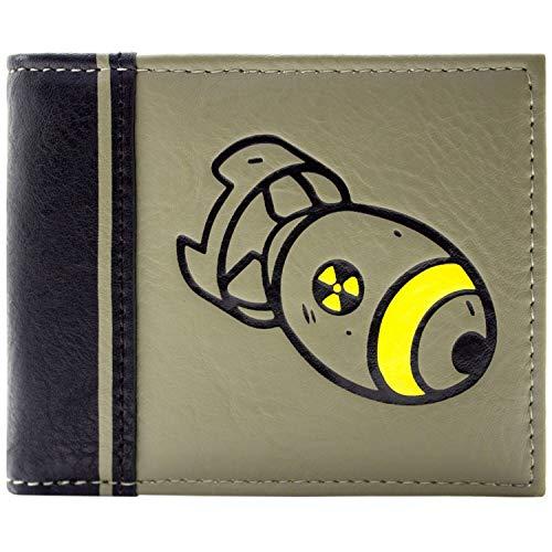 Fallout 76 Nukleare Rakete Grün Portemonnaie ()