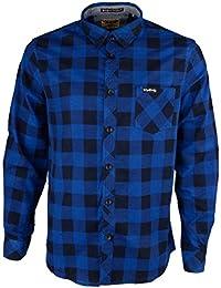Para hombre franela compruebe camisa by Tokyo Laundry 'Wilding de manga larga