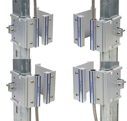 nascom n505autm/ST Overhead Tür Schiene (2-1/10,2cm) Mount Magnet/Schalter Set mit nicht Dead Spot -