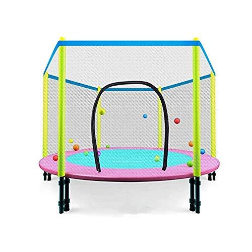 Unbekannt Erwachsene Bouncing Innen Folding Mini-Trampolin/Outdoor-Trampolin, 48-Zoll-Entertainment-Trampolin mit Shell Net - hoch elastischem Seil Entwurf Indoor Trampolin