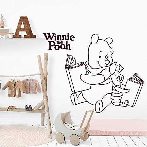 jiuyaomai Nuovo Libro Wall Art Decal Sticker Fashion Wallpaper per Babys Room Bambini Accessori Decorazione della casa 5 57 cm x 71 cm