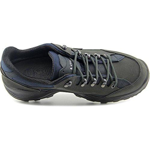 Lowa Renegade II GTX LO Wide All Terrain Chaussures de randonnée pour homme Gris/bleu Gris - DUNKELGRAU/NAVY