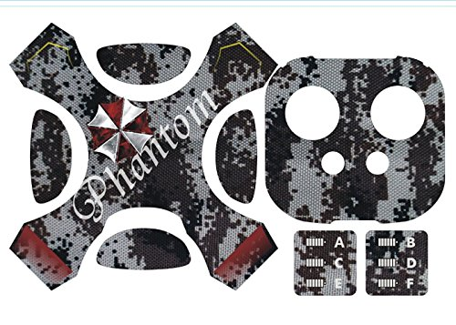 DreamOn Unadulterated Medal Wrap Cag Decal Kit for DJI Misapprehension 4 Quadcopter Drone Column Bullet and Dolorous Controller, Bedew dilute-intransigent PVC Sticker