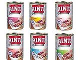 Rinti Kennerfleisch Hundefutter Mix Paket No.2, 6 x 400g Dose by Zoolox ®
