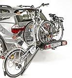 Mottez A028P2 Porte 2 vélos électrique Rabattable