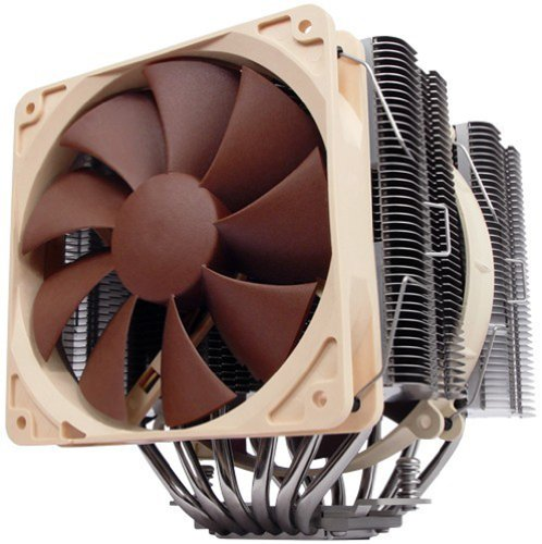 Price comparison product image Noctua NH-D14 SE2011 – PC (Processor Fan, Cooler, Brown, White, 140 x 158 x 160 mm, DC)