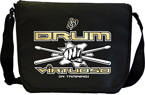 Drum-Fist-Sticks-Virtuoso-In-Training-Sheet-Music-Document-Bag-Musik-Notentasche-MusicaliTee
