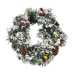 Corona de Navidad, Guirnalda Nieve