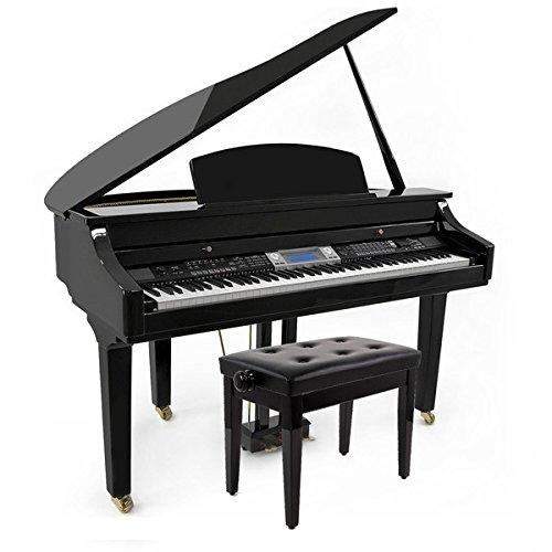 GDP-300 Digitaler Flügel mit Klavierbank von Gear4music
