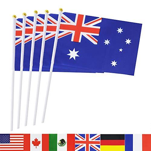 TSMD 50Stück National Land Flaggen Australien